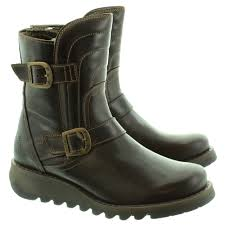 grey biker boots ladies women u0027s fly london boots shoes and sandals jake shoes