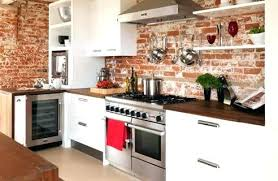 kitchen brick backsplash brick backsplash kitchen alternative kitchen kitchen with brick