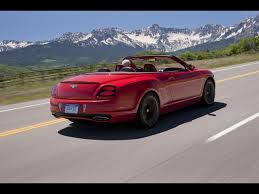 matte red bentley bentley continental review and photos
