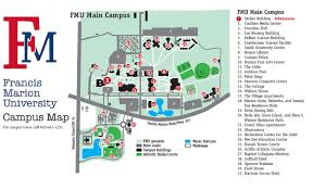 Missouri State Campus Map by Admissions U2013 Campus Visit Francis Marion University