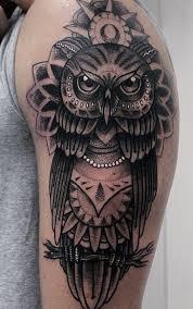 beautiful owl tattoo by chris green at redwood tattoo studio