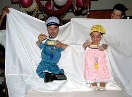 animation mariage originale nourrir bébé ou jeu du nain préparation mariage de l