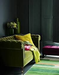 Colors That Go With Pink Living Room With Grey Wall Colors And Green Sofa Colors That Go