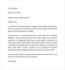 cover letter for a business plan covering letter for business