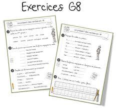 g8 conjugaison le présent des verbes en ir bout de gomme