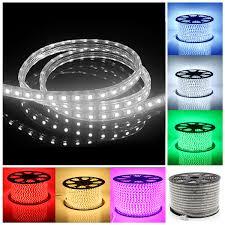 led outdoor strip lighting 220v led strip light ip67 waterproof 30m 60 leds meter ultra