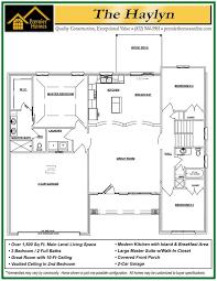 here is the floor plan for the great haylyn floor plan