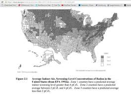 United States Radon Map by Radon Dangers Hormesis Theory Explored Is Radon Beneficial For