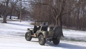 jeep snow willys jeep snow donuts youtube