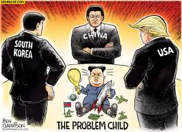 North Korea South Korea Meme - north korea the problem child usa china south korea watching