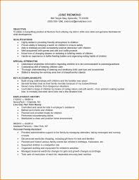 Nanny Resume Sample by How To Include Babysitting On A Resume Free Resume Example And