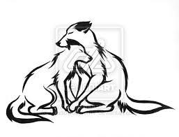 tribal wolf mates by shadowdemon77 on deviantart ideas