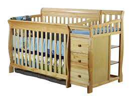 Convertible Crib With Changing Table On Me 4 In 1 Brody Convertible Crib With Changer