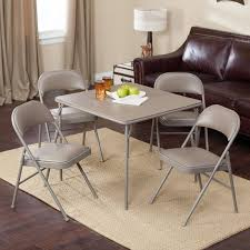 Where To Buy Dining Table And Chairs Meco Sudden Comfort Deluxe Double Padded Chair And Back 5 Piece