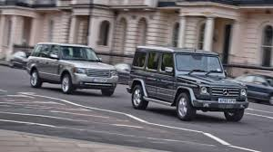 old land rover discovery mercedes g class vs range rover top gear