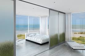 Modern Simple Bedroom Bedroom Cozy Bedroom Sliding Doors Bedding Furniture Ideas