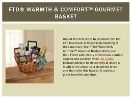 Comfort Gift Basket Ideas 4 Great Condolence Gift Basket Ideas From Buds U0027n Blum