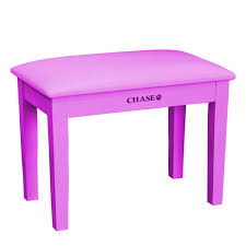 chase cps 270pk piano stool bench pink with storage compartment