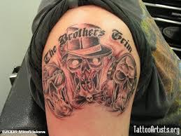 hear no see no speak no evil monkeys tattoo on sleeve photo 2