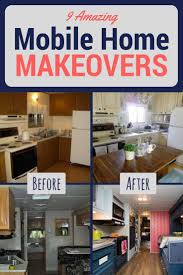 Trailer Home Interior Design by Best 20 Mobile Home Makeovers Ideas On Pinterest Mobile Home