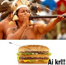 Big Mac Meme - como comer um big mac em manaus meme by jbassi memedroid