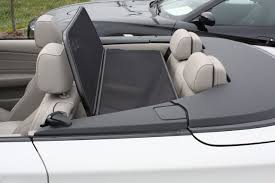 bmw convertible 1 series amazon com 2008 2012 bmw 1 series e88 convertible wind deflector