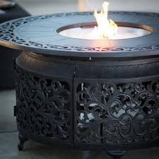 red ember san miguel cast aluminum 48 in round gas fire pit chat