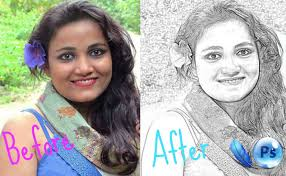 turn your photo into a sketch in seconds photoshop tutorial