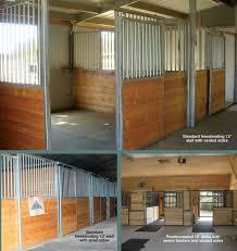 10 Stall Horse Barn Plans Horse Stalls Standard Horse Stalls Triton Horse Stall Are