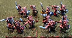 Splintered Light Miniatures Army Of The Olde Forest Fauns