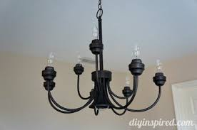 Diy Dining Room Chandelier Upcycled Dining Room Chandelier Diy Inspired