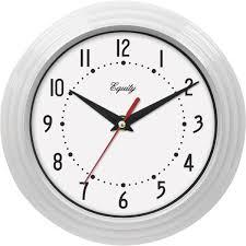 la crosse technology equity traditional wall clock 25011