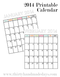 mini calendar template printable mini calendars calendar template 2017