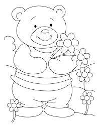 bear cheer coloring pages download free bear cheer coloring