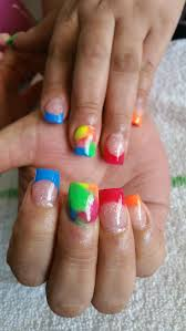 47 best colorful nails images on pinterest colorful nails nail