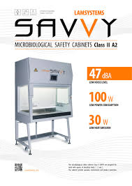 Bio Safety Cabinet Biosafety Cabinet Class Ii Type A2 Savvy 222 Lamsystems Gmbh