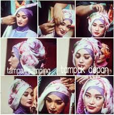 tutorial jilbab ala ivan gunawan aneka model gambar fashion tutorial hijab dan busana muslim pesta