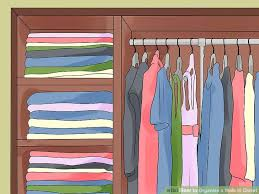 How To Organize Pants In Closet - how to organize a walk in closet 15 steps with pictures
