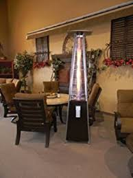 Glass Tube Patio Heater Amazon Com Resort Model 40 000 Btu 4 Sided Pyramid Style Glass