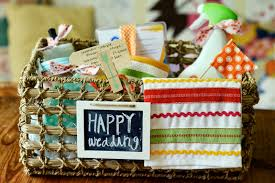wedding gift basket ideas natalie creates the homemaker s wedding gift basket idea for