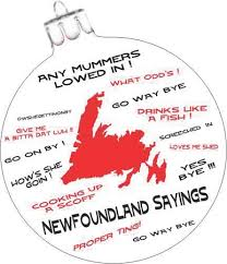 ornament handpainted newfoundland sayings 3 with velvet box