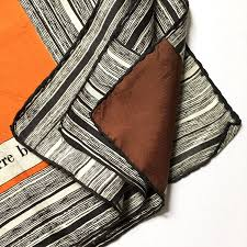 60s design vintage pierre balmain silk square scarf retro scarf 60s 70s