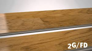 2g fold installation principle with laminate flooring