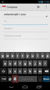 how to change keyboard on android android language processing and computing