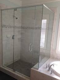 Seamless Glass Shower Door Shower Excellentess Shower Enclosures Picture Ideas Frameless