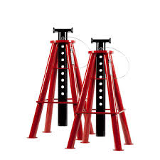 3 Ton Floor Jack Jack Stands And Creeper Set by Husky 3 Ton Jack Stand Pair Mpl4124 Husky The Home Depot