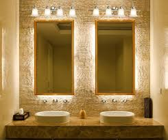 bathroom ideas bathroom light fixtures with white vessel sinks