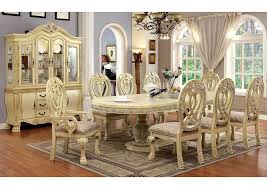 White Dining Room Table And 6 Chairs Sweet Dreamzzz Bedding U0026 Furniture Wyndmere White Dining Table W 6