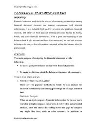 project analysis report template financial analysis report beneficialholdings info