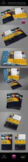 industrial company brochure bi fold template vol2 industrial